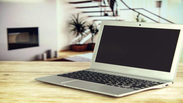 laptop - teaching online