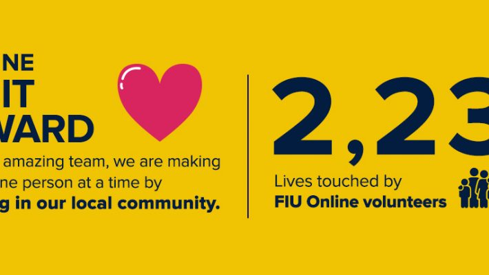 FIU Online Gives Back to Local Community