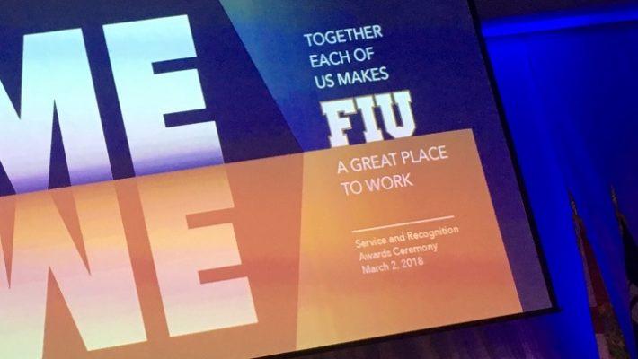 FIU Service Excellence Awards Spring 2018