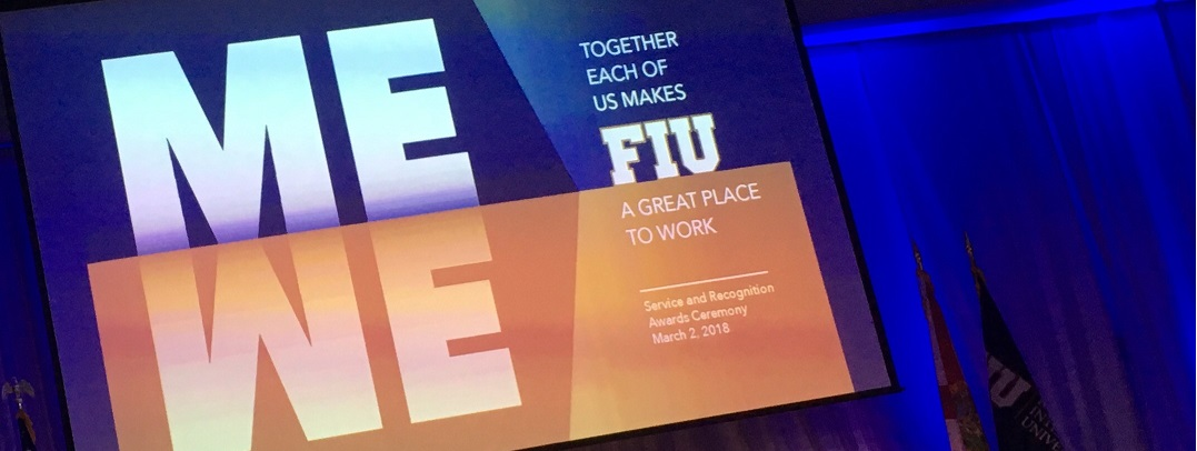 FIU Service Excellence Awards Spring 2018