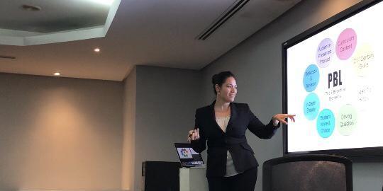 Stephanie Delgado Presentation in Cuba