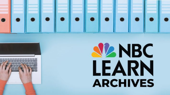 FIU Online NBC Learn Archives banner