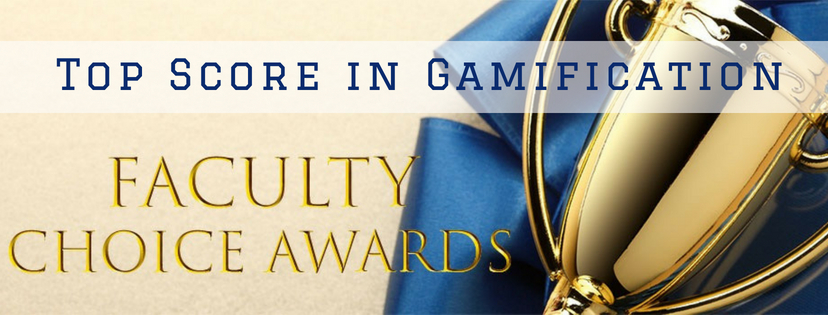 Banner for Faculty Choice Award Winners Sound Off: Top Score in Gamification