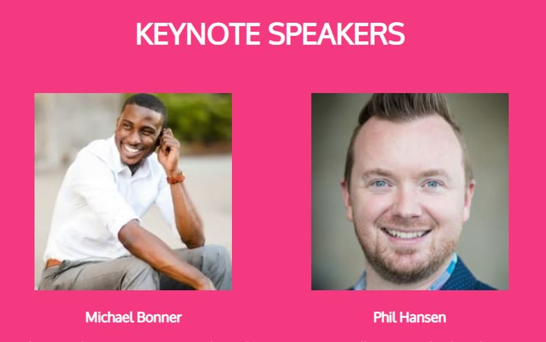 FIU Online Con 2018 Keynote Speakers: Michael Bonner and Phil Hansen