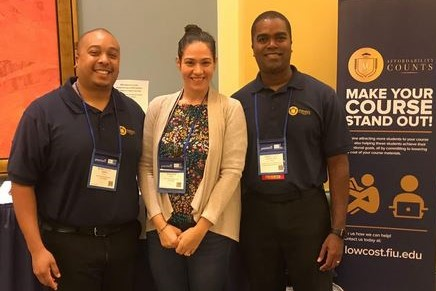 FIU Online Staff at OLC Accelerate Conference