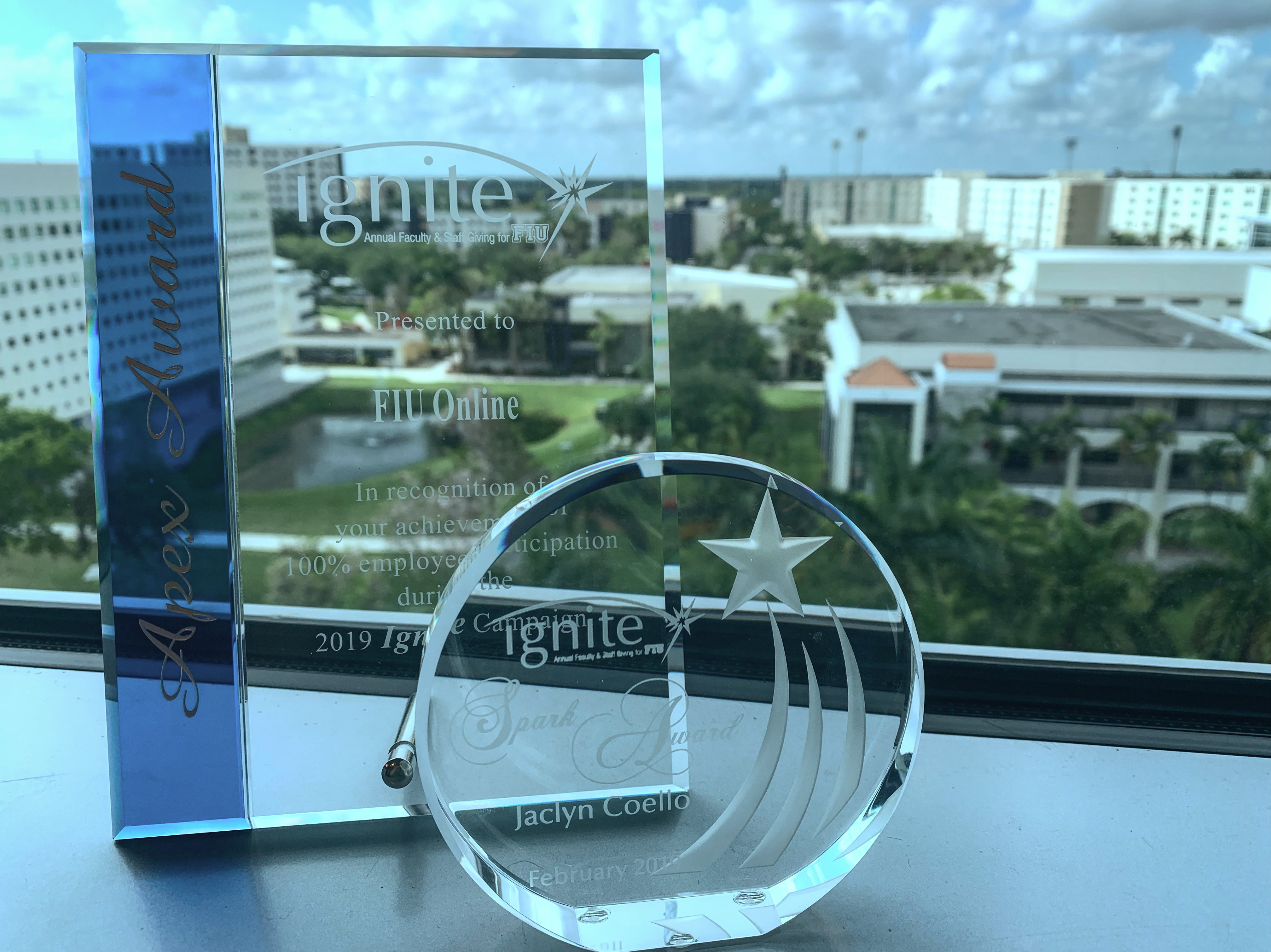 FIU Online Ignite Apex & Spark Awards