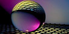 decorative: sphere with geometric designs