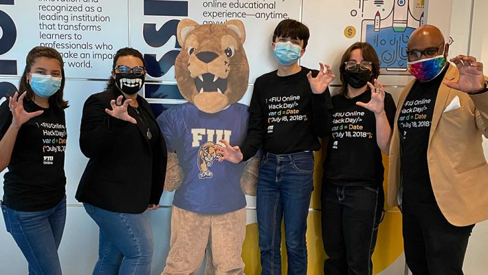 photo of FIU Online employees